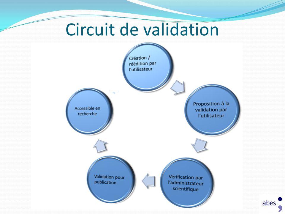 Circuit de validation