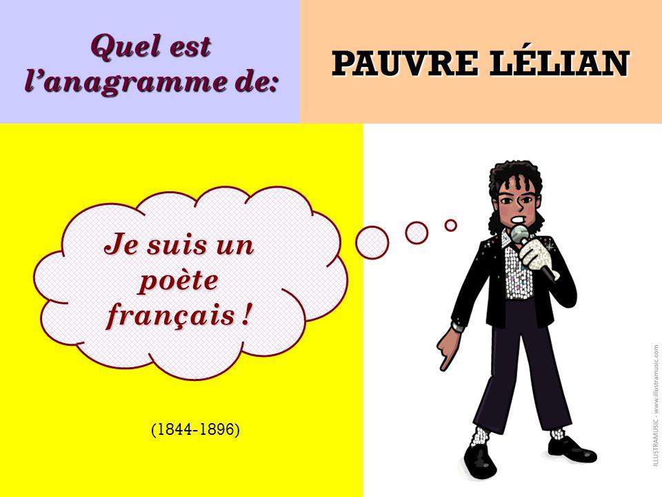 JEAN-PAUL SARTRE est lanagramme de: Je suis JEAN-PAUL SARTRE SATAN LE PARJURE Ecrivain, philosophe, dramaturge français (1905-1980)