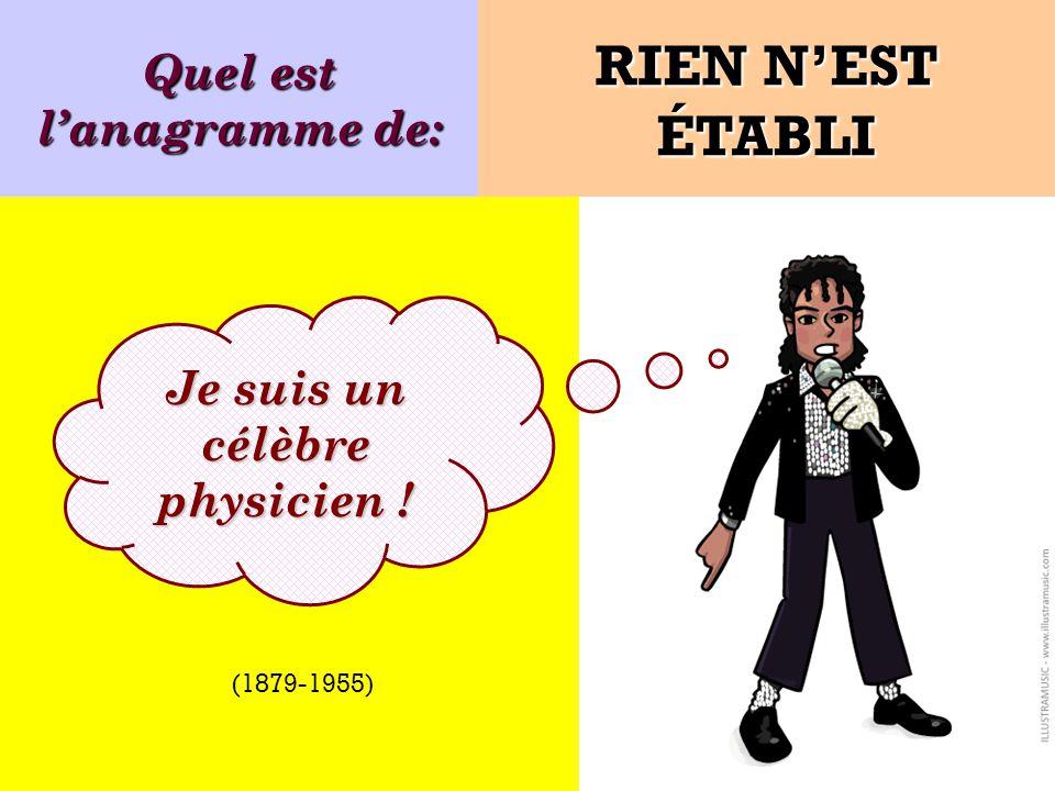 PAUL VERLAINE est lanagramme de: Je suis PAUL VERLAINE PAUVRE LÉLIAN Poète français (1844-1896)
