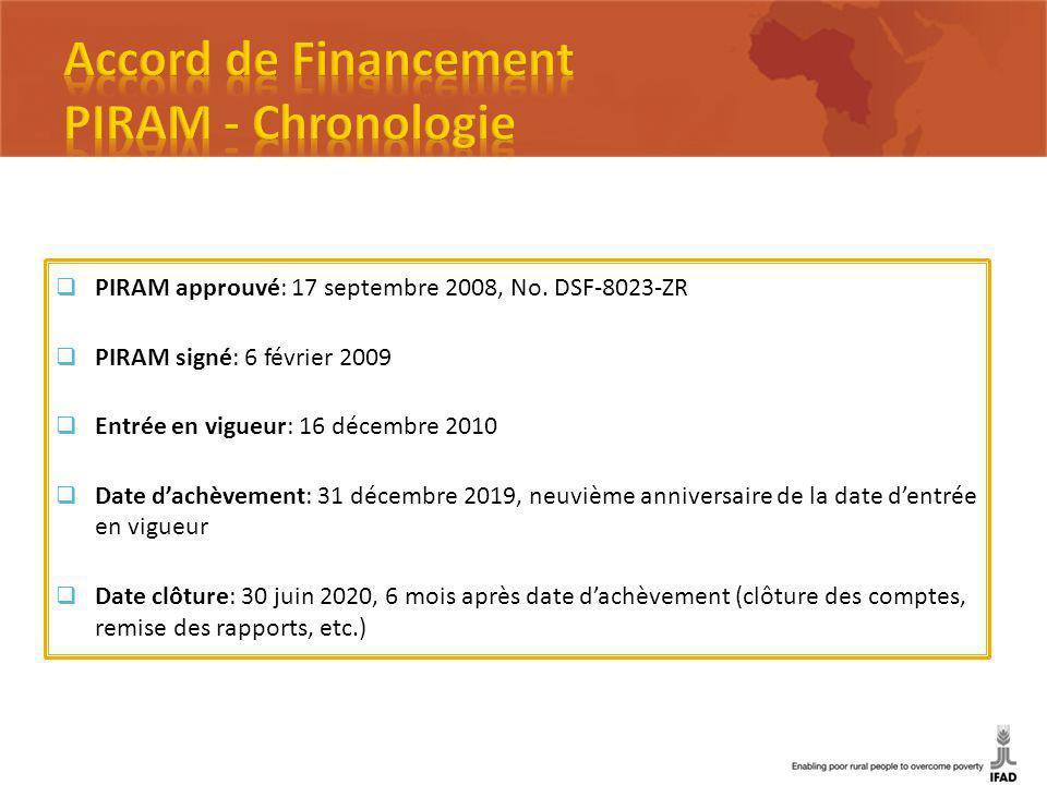 PIRAM approuvé: 17 septembre 2008, No.