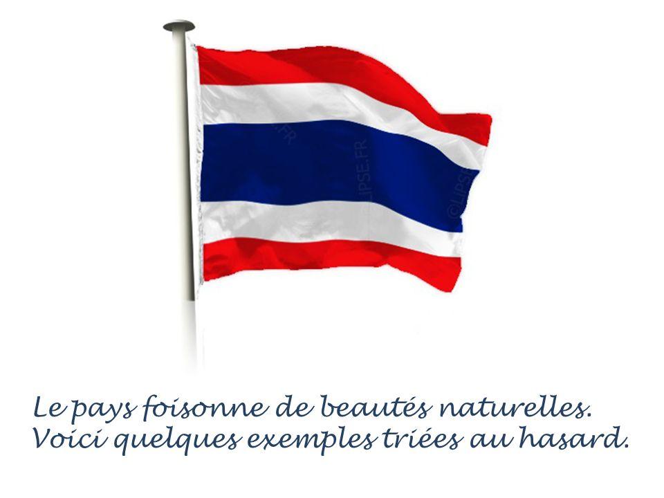La Thaïlande est le 6 ième plus beau pays au monde selon lUnesco.