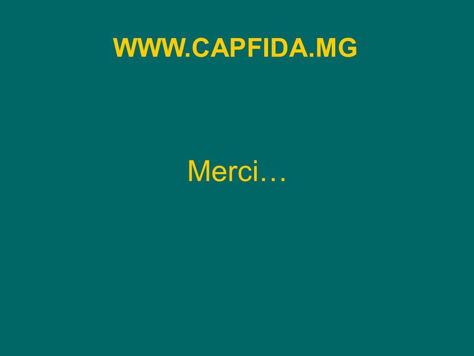 Merci… WWW.CAPFIDA.MG