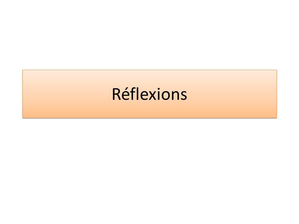 Réflexions