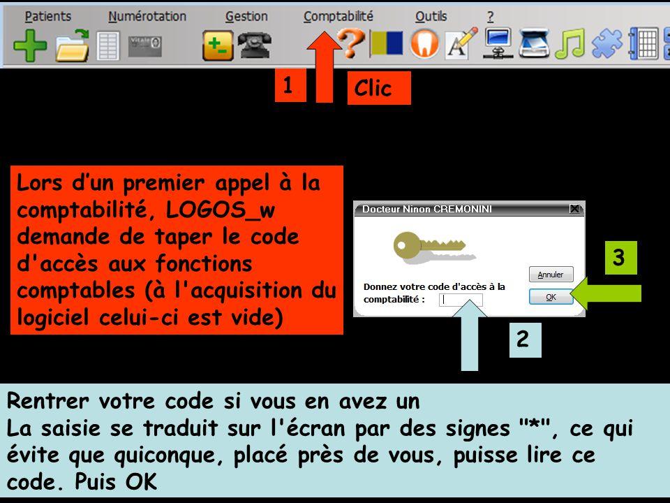 Clic Rentrer votre code si vous en avez un La saisie se traduit sur l écran par des signes * , ce qui évite que quiconque, placé près de vous, puisse lire ce code.