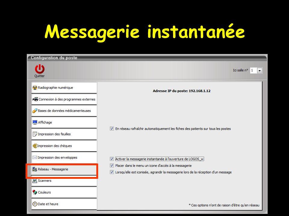 Messagerie instantanée