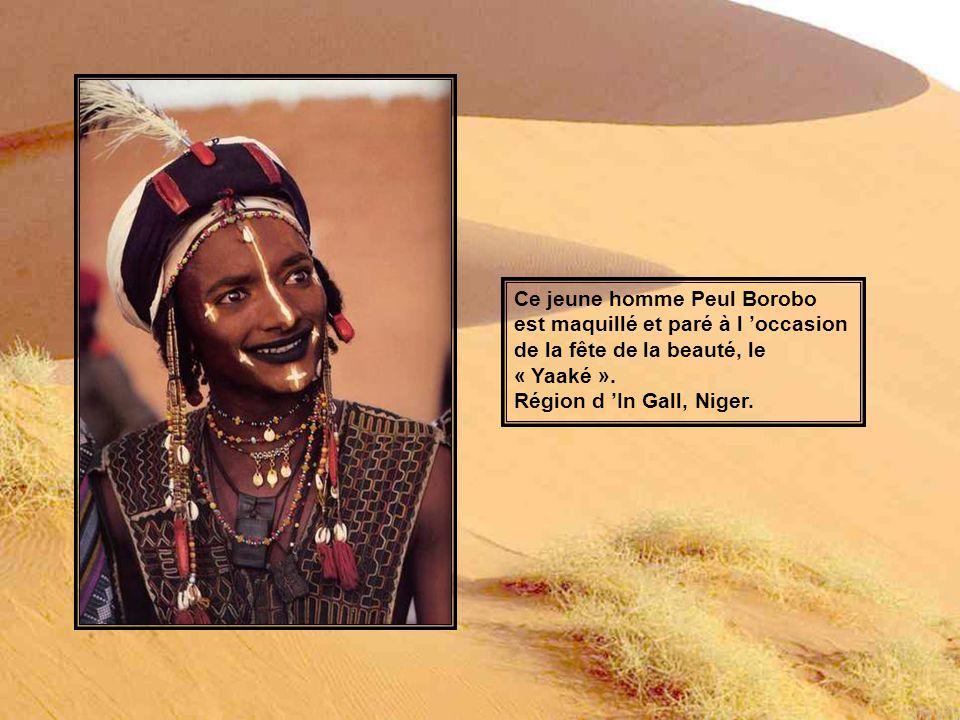 Ce jeune garçon Peul a été photographié dans la région d Abalak, Niger.