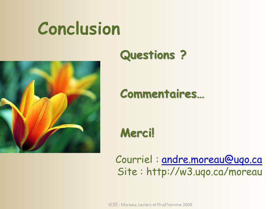 Questions .Commentaires…Merci.