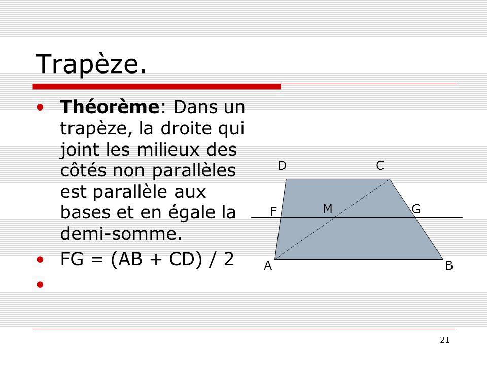 21 Trapèze.