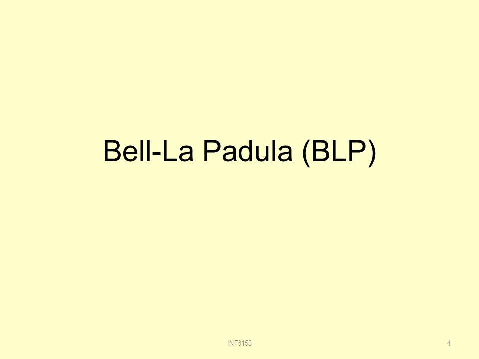 Bell-La Padula (BLP) INF61534