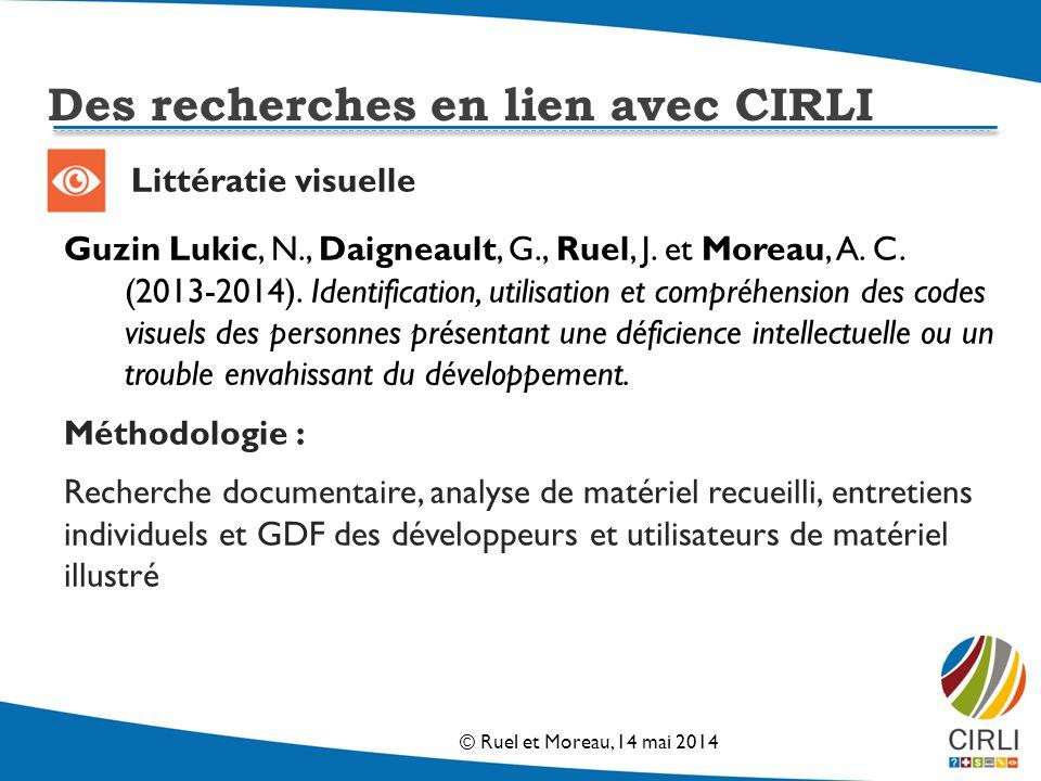 Littératie visuelle Guzin Lukic, N., Daigneault, G., Ruel, J.