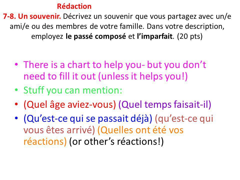 How to do Passé Composé 1) Choose a verb.