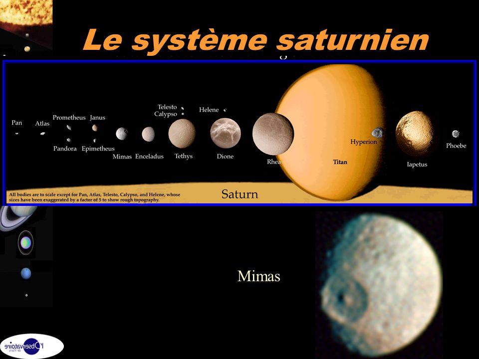 26 Le système saturnien Mimas