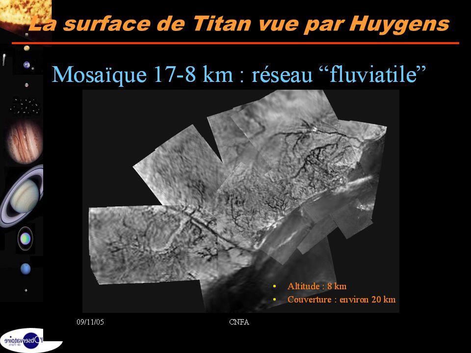 32 La surface de Titan vue par Huygens