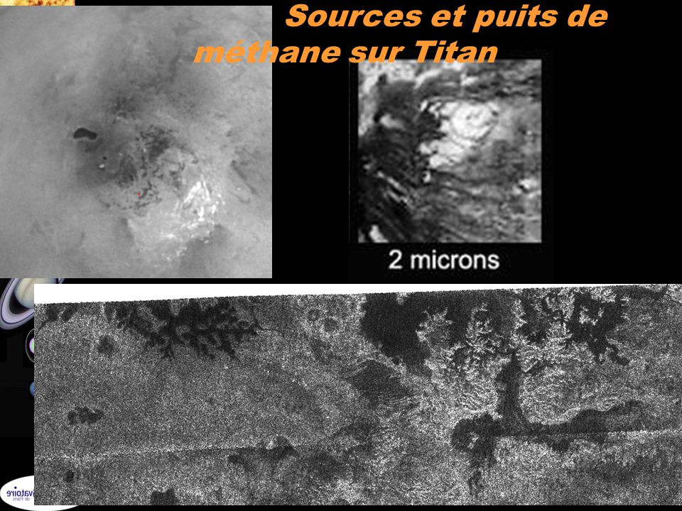 33 Sources et puits de méthane sur Titan