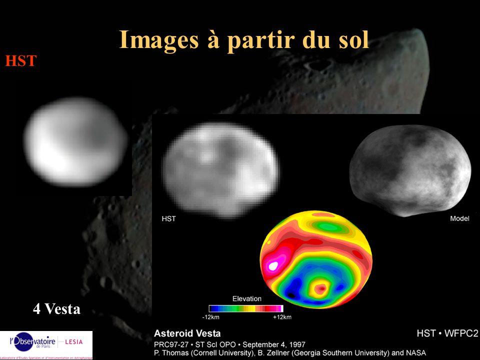 Alain Doressoundiram21 Images à partir du sol HST 4 Vesta