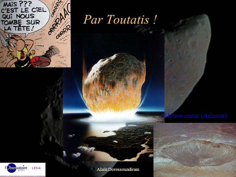 Alain Doressoundiram35 Classification des météorites Différentiées Métalliques Chondrites ordinaires Métallo- pierreuses Achondrites HED, SNC,...