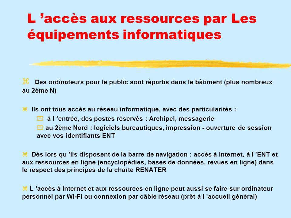 L accès aux documents imprimés par les classements
