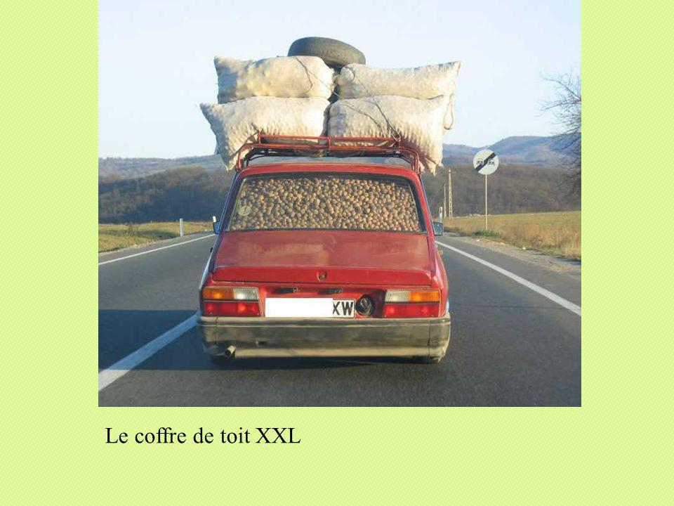 Le coffre de toit XXL