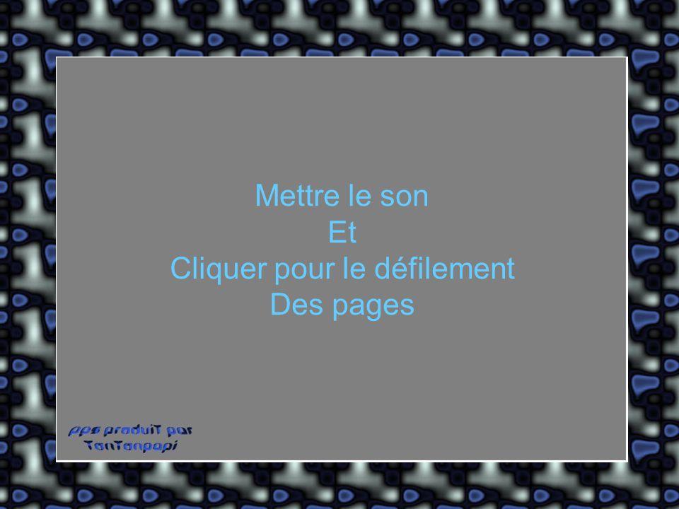 Diaporama PPS réalisé pour http://www.diaporamas-a-la-con.com http://www.diaporamas-a-la-con.com Mettre le son Et Cliquer pour le défilement Des pages