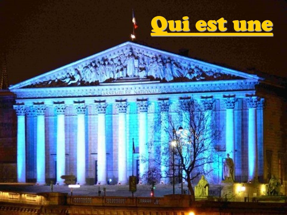 Comme a L ASSEMBLEE NATIONALE