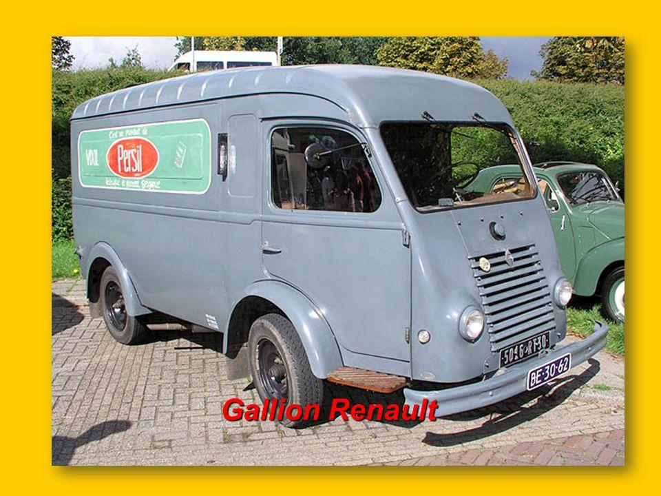 Autobus parisien Renault 1954