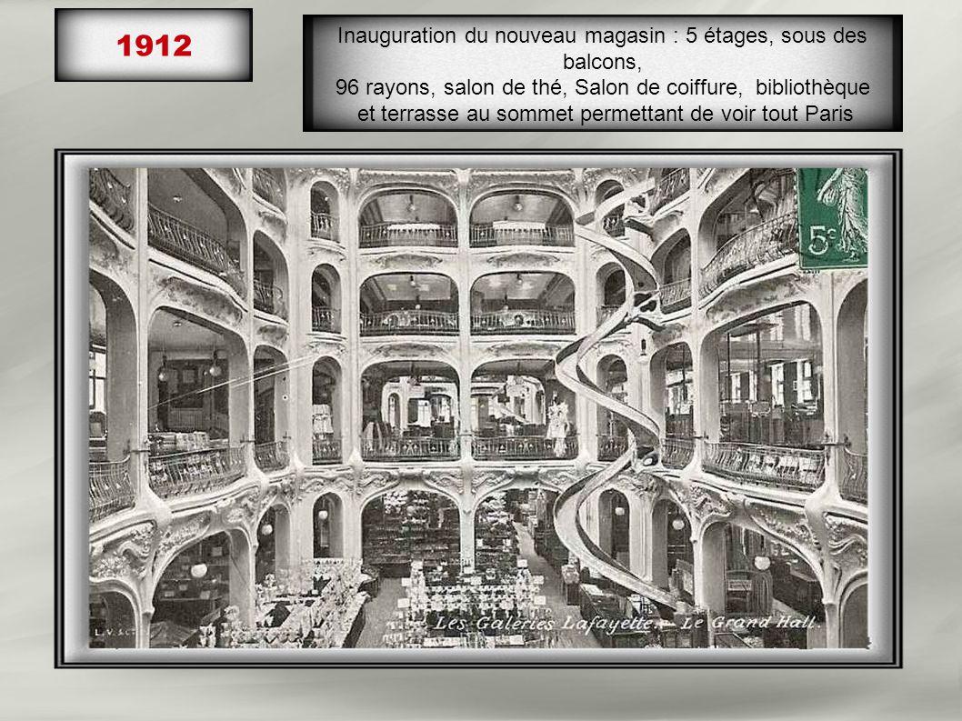 1908-1912 En travaux, l' escalier signé Louis Majorelle