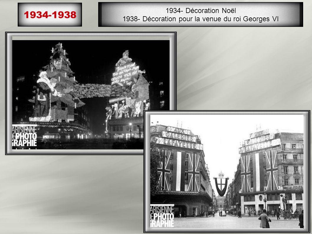 1936 (Les grèves pour le droit aux congés et la semaine des 40h) Les vendeuses à robe noire, col blanc, les chefs de rayon, les manutentionnaires, tou