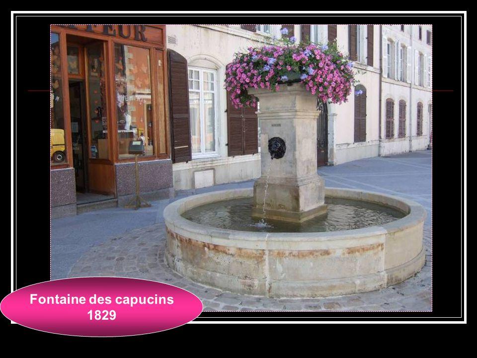Fontaine de la Xavée 1828