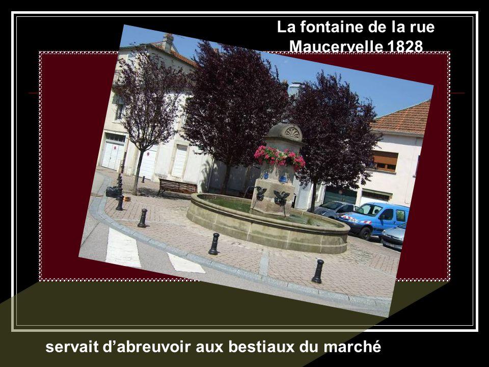 Fontaine du Cygne 1845-1852