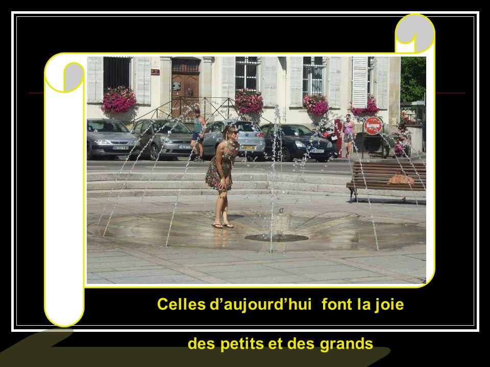 Cette fontaine rappelle que Remiremont est située dans une région granitique...…….