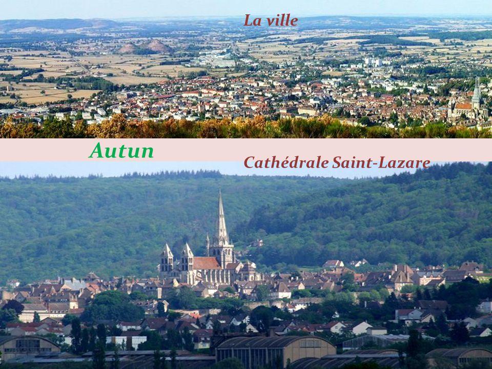 Verdun – sur – le - Doubs Confluent du Doubs (à droite) et de la Saône (à gauche) Le centre du bourg sur les berges du Doubs