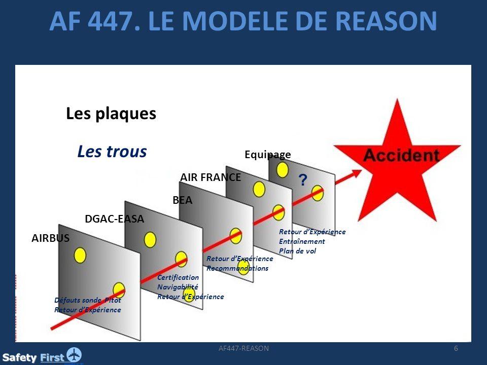6AF447-REASON AF 447.