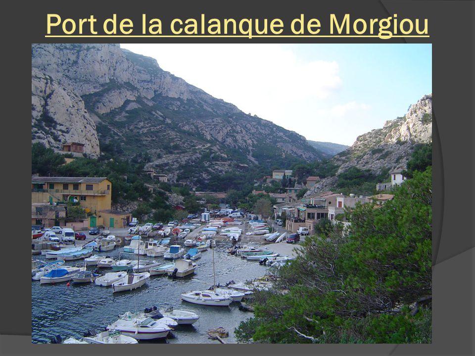 Calanque de Morgiou