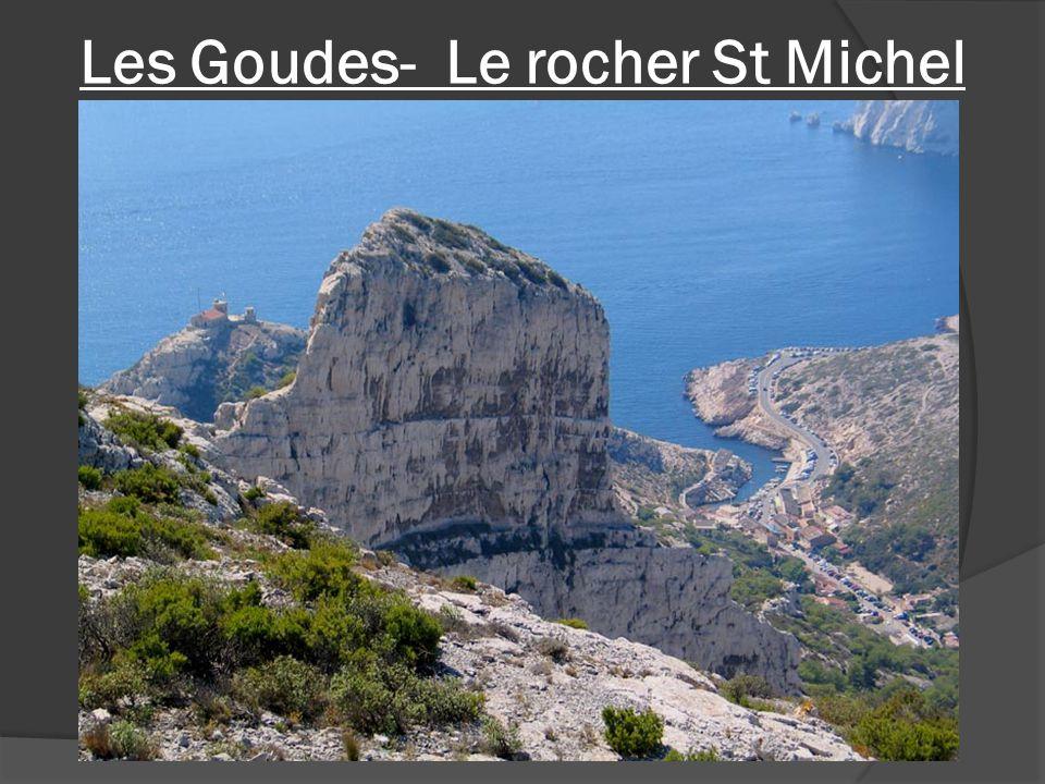 Les Goudes- Le rocher St Michel