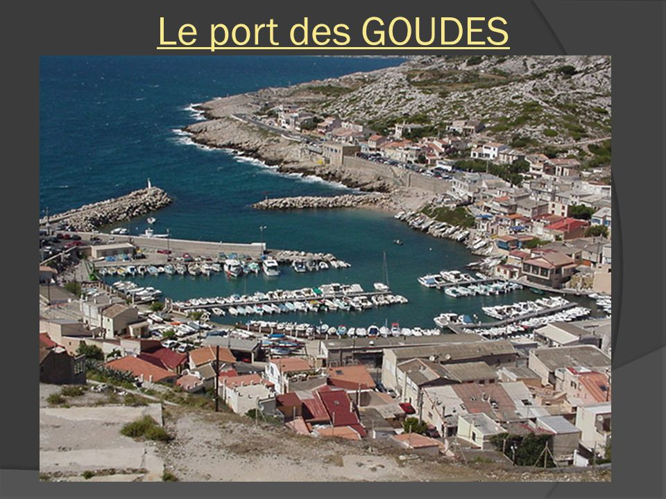 Le port des GOUDES