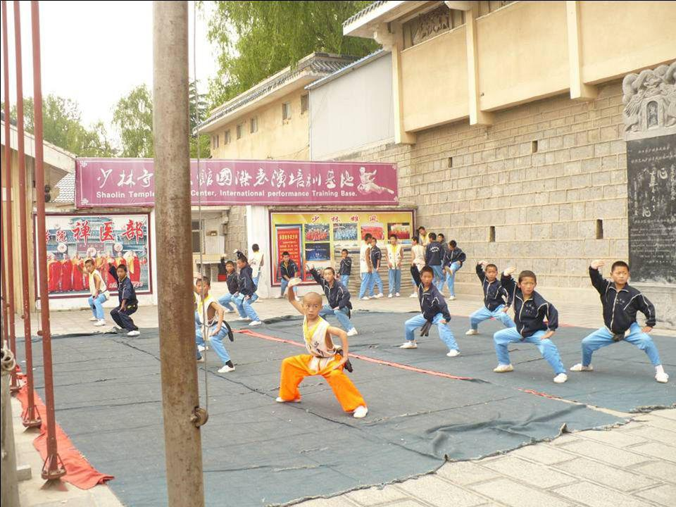 Une école de Kung-Fu …