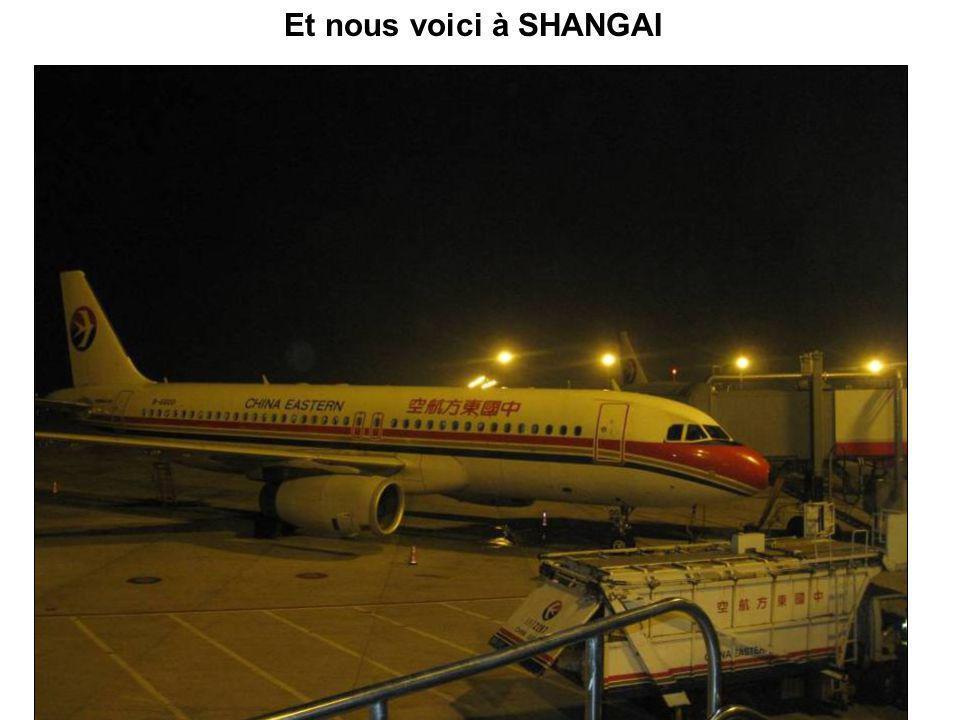 Bon, il est temps daller dîner, puis de prendre un avion à Zhengzhou pour aller à Shangai..!