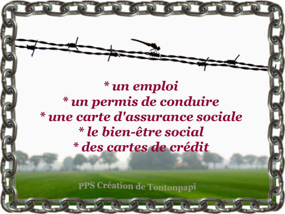 Traverser illégalement la frontière Française permet d'obtenir (immédiatement ou presque)