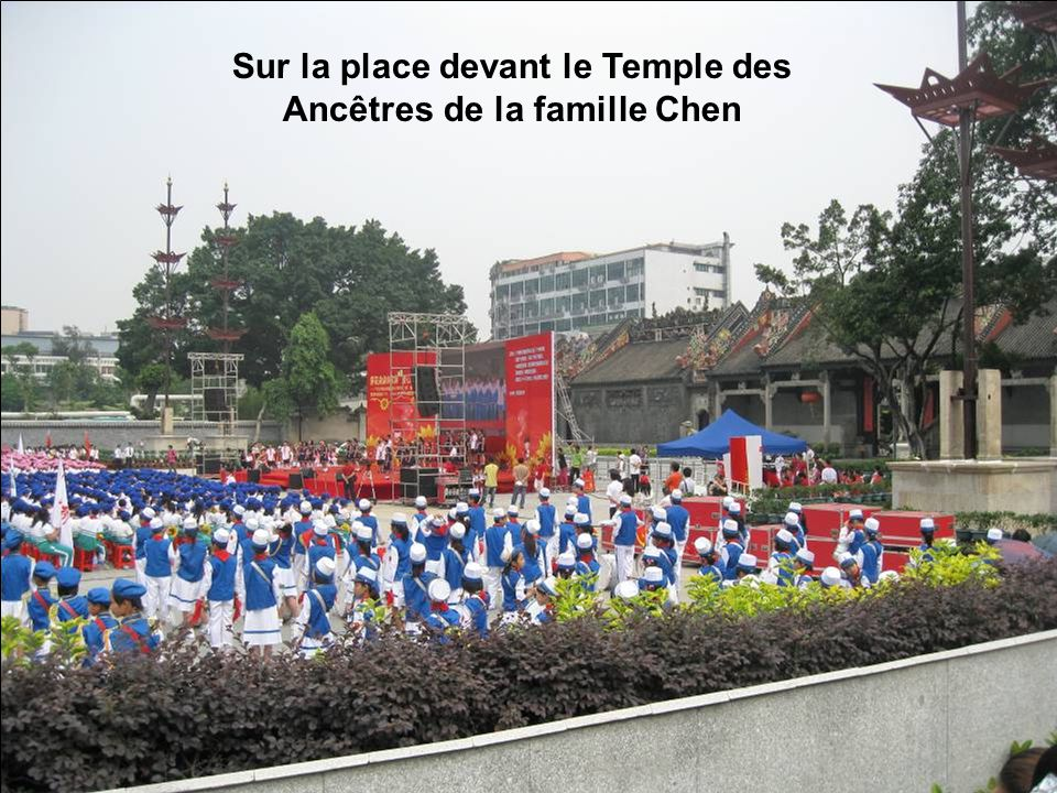 Parti de Guilin, notre avion vient datterrir à laéroport de Canton