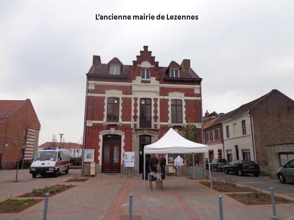 Lancienne mairie de Lezennes