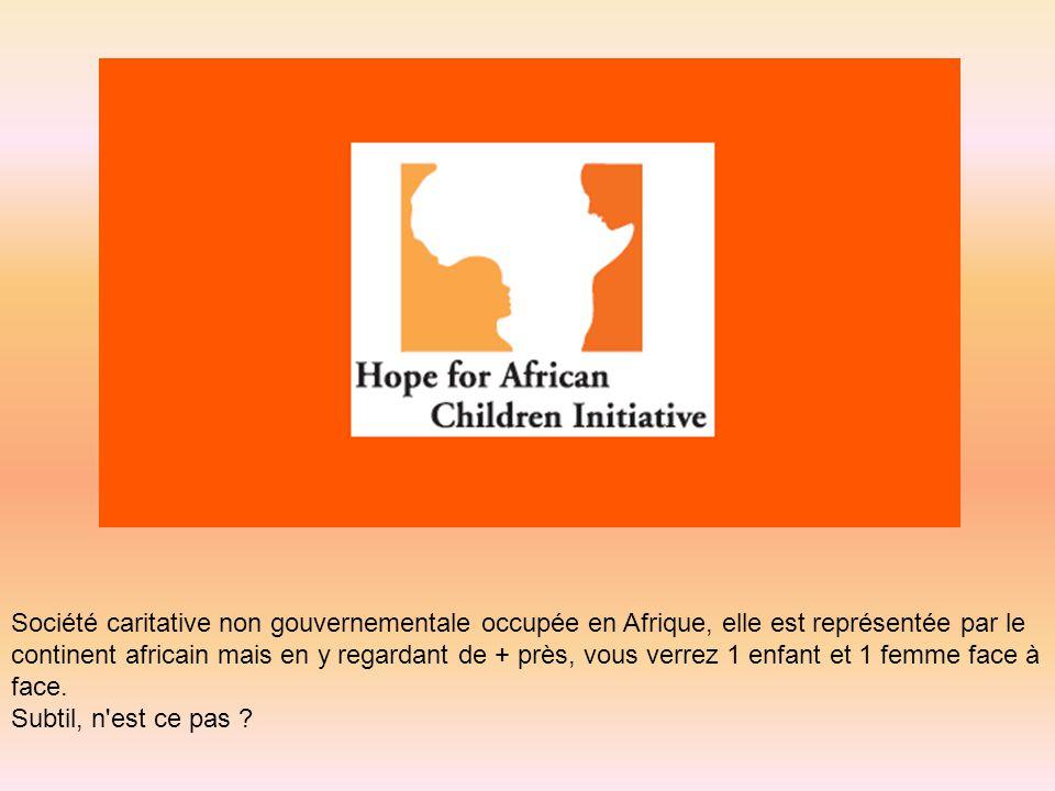 Société caritative non gouvernementale occupée en Afrique, elle est représentée par le continent africain mais en y regardant de + près, vous verrez 1
