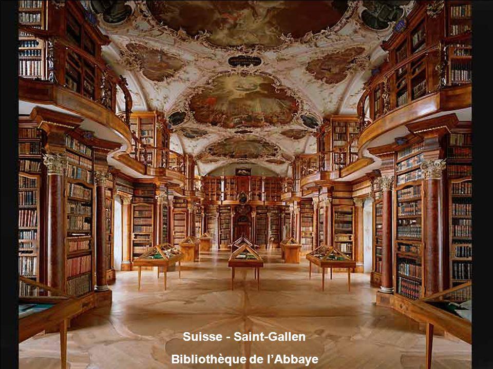 Autriche Bibliothèque de lAbbaye de Saint-Florian