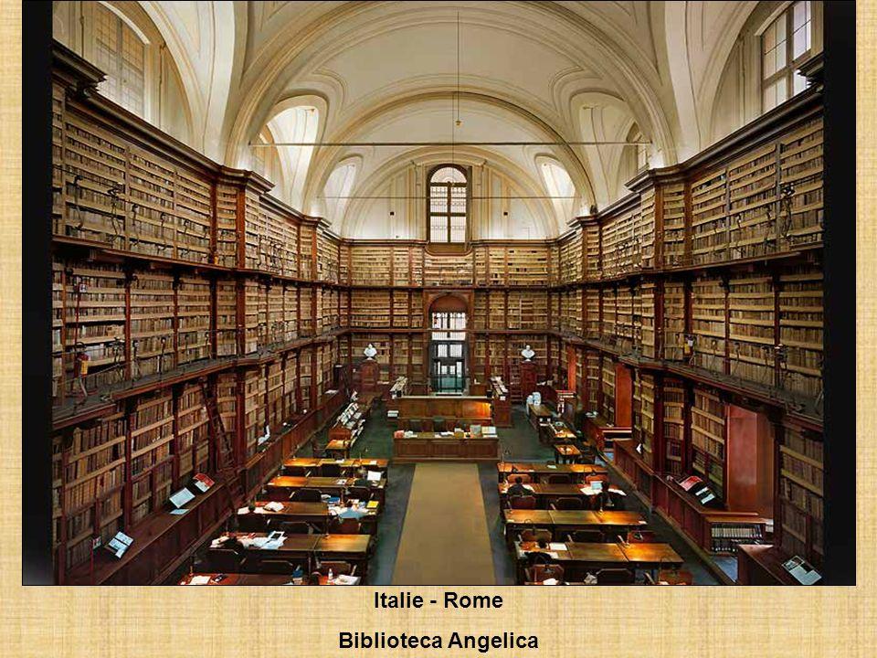 Allemagne - Wiblingen Bibliothèque du Monastère.