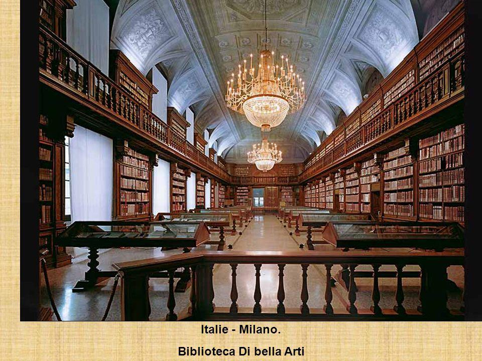 Allemagne – Metten Bibliothèque de lAbbaye bénédictine