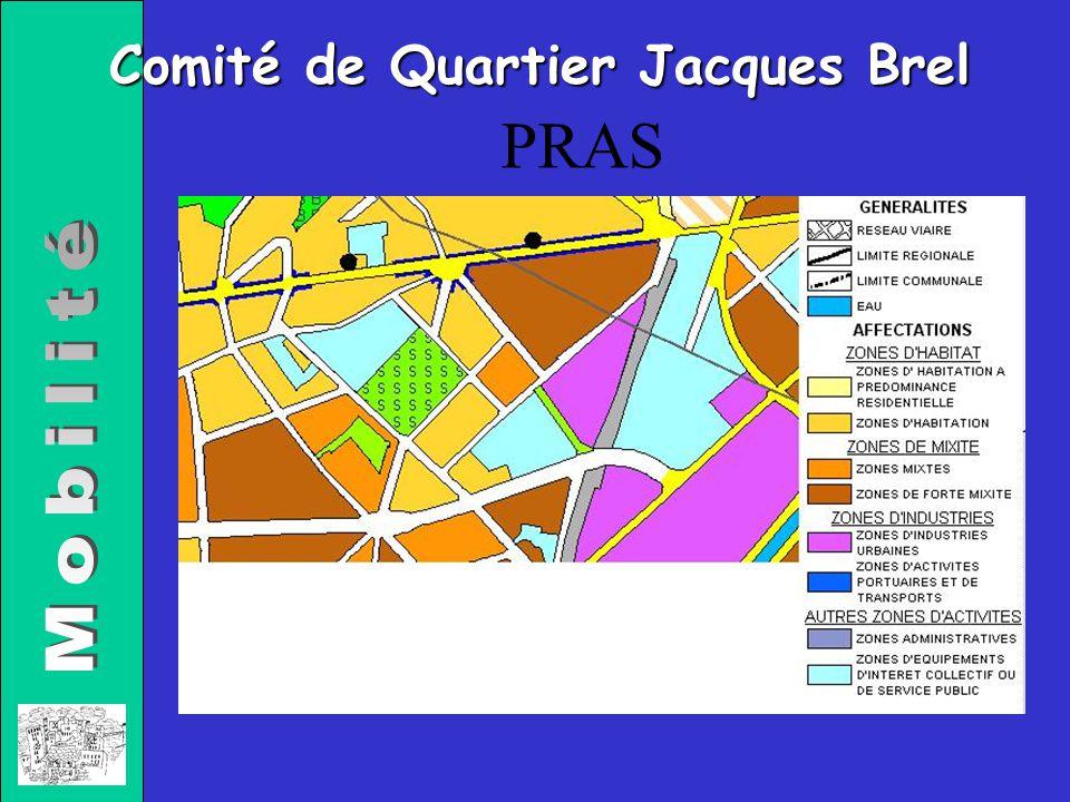 Comité de Quartier Jacques Brel PRAS