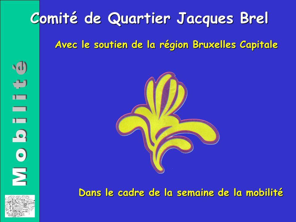 Avec le soutien de la région Bruxelles Capitale Dans le cadre de la semaine de la mobilité