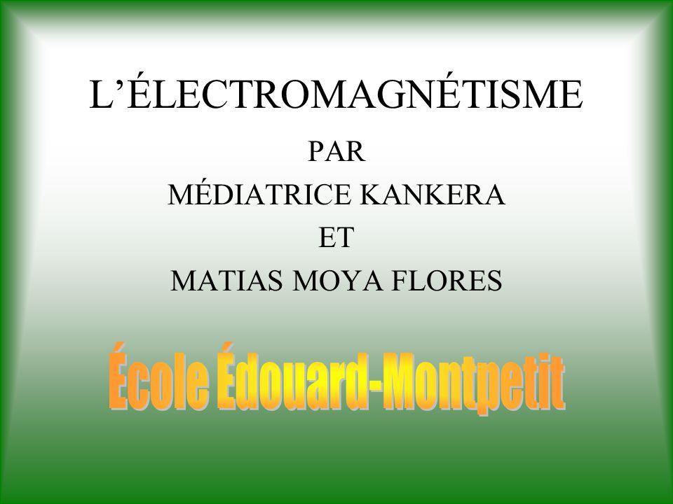 Par Médiatrice KANKERA et Matias MOYA FLORES École Édouard-Montpetit, Montréal, mai 2002 Validation du contenu et révision linguistique: Martin Dugas Science animée, 2002 Cliquez ici pour commencer