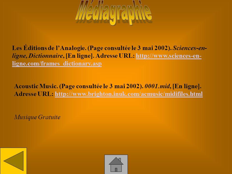 Ehrenfeld, Julien. (Page consultée le 3 mai 2002). Utilisations délectroaimants, [En ligne]. Adresse URL: http://www.chez.com/lalevitationmagnetique/u