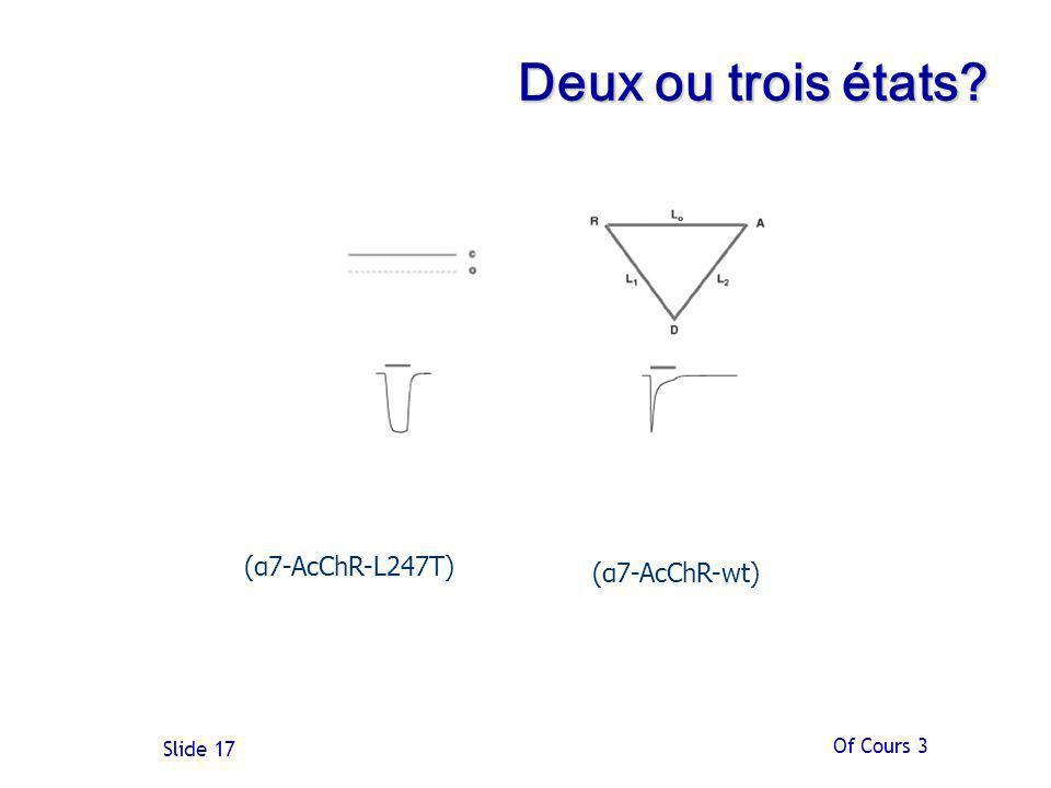 Of Cours 3 Slide 17 Deux ou trois états? (α7-AcChR-L247T) (α7-AcChR-wt)