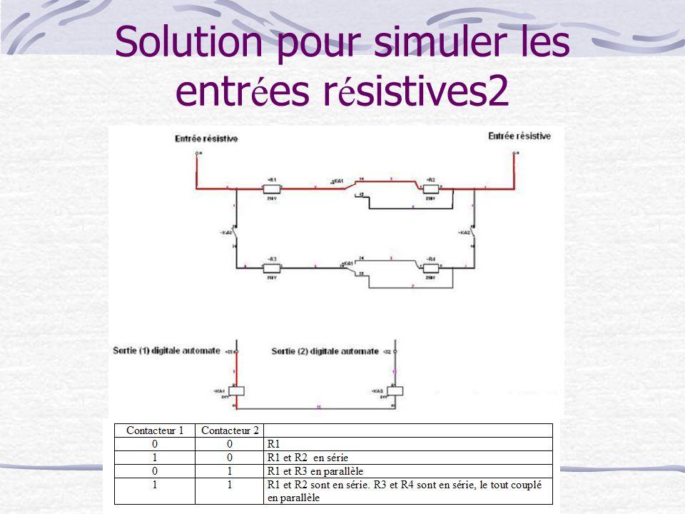 Solution pour simuler les entr é es r é sistives2